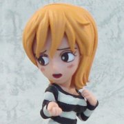 One Piece World Collectable Pre-Painted PVC Figure vol.11: TV085 - Nami (Mr. 2 Ver.) (Japan)