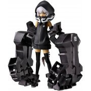 Black Rock Shooter Non Scale Pre-Painted PVC Figure: figma Strength (Japan)