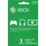Xbox Live Gold 3-Month Membership (US)