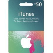 iTunes Card (USD 50 / for US accounts only)  digital (US)