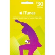 iTunes Card (US$ 30 / for US accounts only) (US)