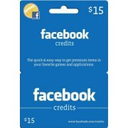 Facebook Card (US$ 15 / for US accounts only) (US)