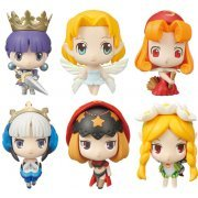 Game Characters Collection Mini Princess Crown & Odin Sphere Pre-Painted Trading Figure (Set of 12 pieces) (Japan)