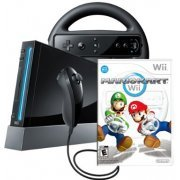 Nintendo Wii (Mario Kart Black Bundle) (US)