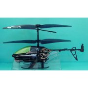 Silverlit R/C Power In Air Infrared Control Helicopter: Spy Cam (Black Ver.) (Asia)