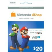 Nintendo eShop 20 USD Card US (US)