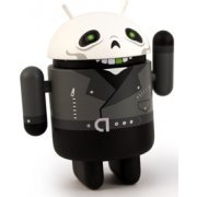 Google Android Non Scale Pre-Painted Vinyl Mini Collectible Series Special Edition: Greentooth (Villain) (Asia)
