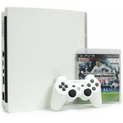 PlayStation3 Slim Console - Winning Eleven 2012 Value Pack (HDD 160GB Classic White Model) - 220V (Asia)
