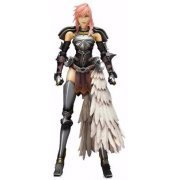 Final Fantasy XIII-2 Play Arts Kai Pre-Painted Figure: Lightning (Japan)