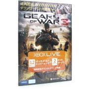 Xbox Live 12-Month +2 Gold Card (Gears of War 3) (Japan)