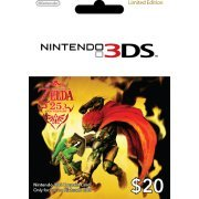 Nintendo 3DS Prepaid Card: The Legend of Zelda 25th Anniversary Limited Edition (US$20 / for US network only) (US)