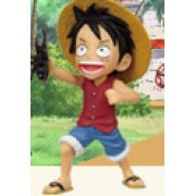 One Piece World Collectable Pre-Painted PVC Figure Vol.18: TV148 - Monkey D. Luffy (Japan)