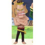 One Piece World Collectable Pre-Painted PVC Figure Vol.18: TV145 - Montblanc Cricket (Japan)