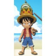 One Piece World Collectable Pre-Painted PVC Figure Vol.19: TV156 - Monkey D. Luffy (Japan)