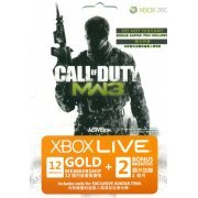 Xbox Live 12-Month Subscription Gold Card + 2 Months Bonus (Call of Duty: Modern Warfare 3) (Asia)