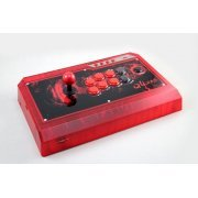Qanba Q4 Real Arcade Fightingstick (3in1) (Ice Red Limited Edition) (Asia)
