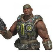Gears of War 3 Series 2 Pre-Painted Action Figure: Augustus Cole (US)