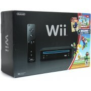 Nintendo Wii (Super Mario Bros. Black Bundle) (US)