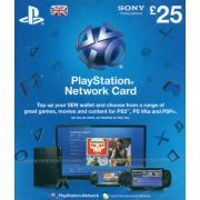PlayStation Network Card (GB£ 25 / for UK network only) digital (UK)