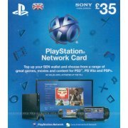 PlayStation Network Card (GB£ 35 / for UK network only) digital (UK)