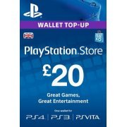 PlayStation Network 20 GBP PSN CARD UK (UK)