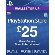 PlayStation Network 25 GBP PSN CARD UK (UK)
