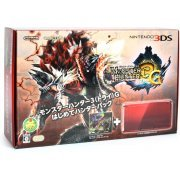Nintendo 3DS (Monster Hunter 3G Beginner Hunters Pack Red Edition) (Japan)