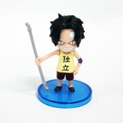One Piece World Collectable Pre-Painted PVC Figure word : Ace TT06 (Japan)