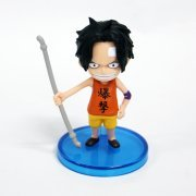 One Piece World Collectable Pre-Painted PVC Figure word : Ace TT08 (Japan)
