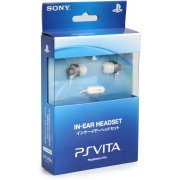 Sony PlayStation Vita Earphone (Crystal White) (Japan)