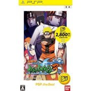 Naruto Shippuuden: Narutimate Accel 3 (PSP the Best) (Japan)