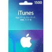 iTunes Card (1500 Yen / for Japan accounts only) (Japan)