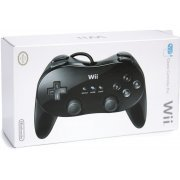 Wii Classic Controller Pro (Black) (US)