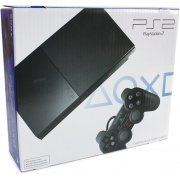 PlayStation2 Console Slim Black (Charcoal Black) (US)