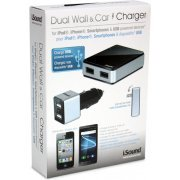 i.Sound Dual USB Wall Charger Pro for USB Powered Devices