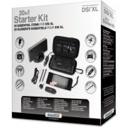 DreamGear 20 in 1 Starter Kit for DSi XL - Black (US)