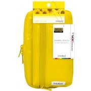 Enamel Pouch for 3DS LL (Shiny Yellow) (Japan)
