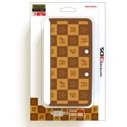 Body Cover 3DS Type D (Super Mario Bros. Brown) (Japan)