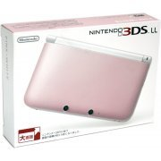 Nintendo 3DS LL (Pink x White) (Japan)