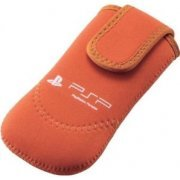 PSP Neoprene Soft Case (Orange) (Japan)