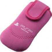 PSP Neoprene Soft Case (Pink) (Japan)