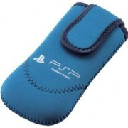 PSP Neoprene Soft Case (Blue) (Japan)