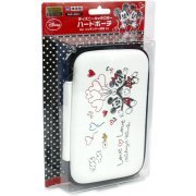 Disney Character Hard Pouch for 3DS LL (Micky & Minnie Version) (Japan)