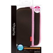 +Palette Multi Soft Pouch for 3DS (Chocolate Pink) (Japan)