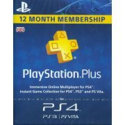 PlayStation Plus 12 Month Membership (UK)