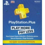 PlayStation Plus 90 Day Subscription (UK)