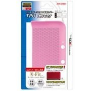 TPU Cover for 3DS LL (Clear Pink) (Japan)
