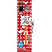 Expand! Mascot Touch Pen Plus for 3DS LL (White Kyurem Over Drive) (Japan)