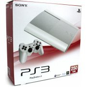 PlayStation3 New Slim Console (250GB Classic White Model) - 110V (Japan)