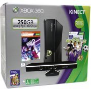 Xbox 360 250GB Kinect Holiday Bundle (Kinect Sports & Kinect Adventures Games) (Asia)